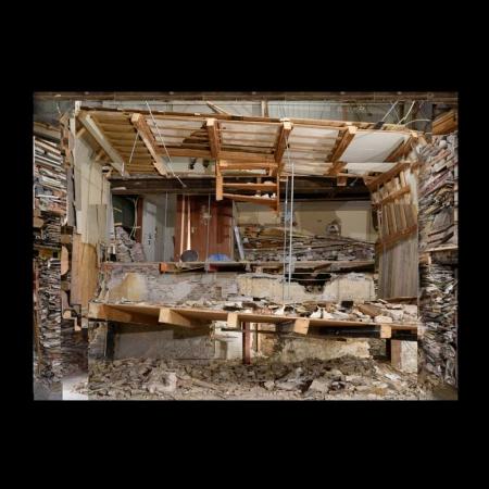 Verwoest Huis Leiden